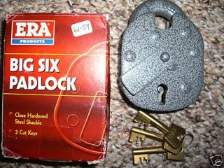 High Security Padlock Era Lever Padlock 4 Hasp Lock