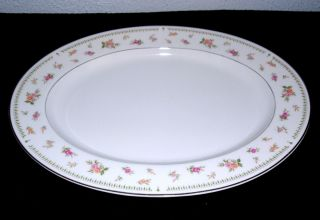 Abingdon Fine Porcelain China Oval Platter Made in Japan