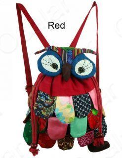 Vintage Handmade Children Kid Baby Backpack Book School Bag