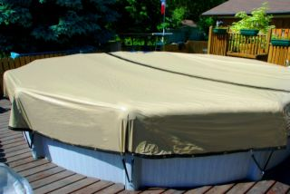 Ultimate Above Ground Winter Swimming Pool Cover Armor Kote 10 yr All