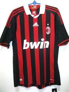 BNWT AC Milan Home Football Soccer Jersey Trikot 2009 2010