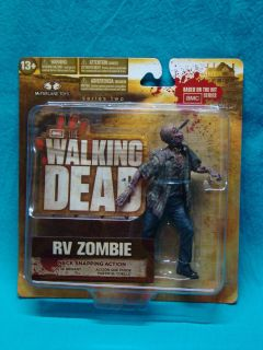 The Walking Dead RV Zombie Action Figure New