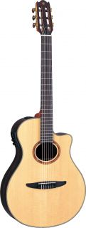 Yamaha NTX1200R Nylon String Acoustic/Electric Guitar with Case