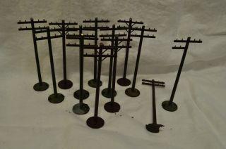 Lionel O Scale Telephone Poles Model Train Accessories