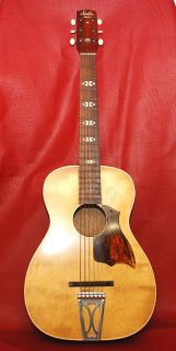 VINTAGE MID 1960S STELLA HARMONY ACOUSTIC GUITAR WITH HARD CASE