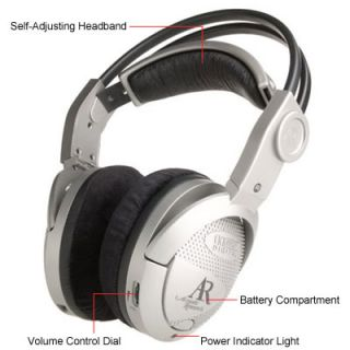 Acoustic Research Wireless Surround Sound Headphones Dolby Digital