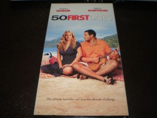 Used VHS 50 First Dates Adam Sandler Drew Barrymore Sean Astin