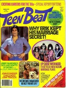 Teen Beat Magazine 1980 Olivia Newton John Scott Baio