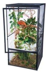 New Lizard Eco System Cage Gecko Habitat Home Screen Design Pet Living
