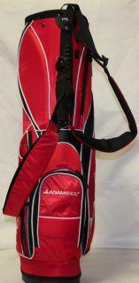 New Adams Hornet Golf Stand Bag Red