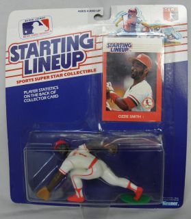 STARTING LINE UP BASEBALL ACTION FIGURE TOY 1988 OZZIE SMITH ST LOUIS