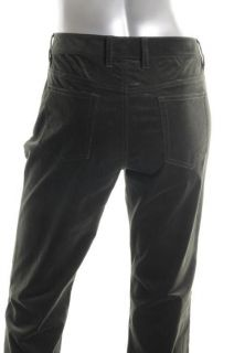 Elie Tahari New Adena Green Low Rise Boot Cutcorduroy Pants 10 BHFO