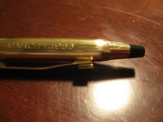 Vintage Adolph Coors Co Cross Pen and Mechanical Pencil Set 1986 RARE