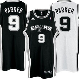 Spurs Parker Swingman Jersey Adidas NBA Basketball New
