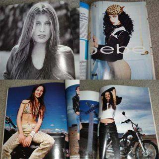 Mademoiselle 1999 Renata Maciel Adriana Lima BEBE Ad