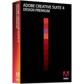 Adobe Creative Suite 4 CS4 Design Premium Upgrade from CS3 for PC
