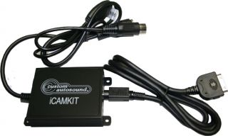 Custom Autosound Icamkit iPod Interface USA 630 Radio ADDON