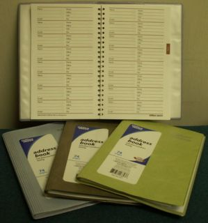 931 677 Office Depot (Green)Address Book. 74 Pages Size 5 x 8