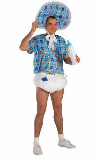 Adults Mens Baby Boy Humour Fancy Dress Costume