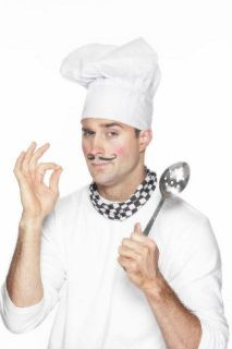 Chef Hat Adults White Cloth Costume Master Chef Cook