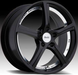 18x8 Advanti Racing 15th Anniversary 5x114 3 ET50 Matte Black Rims