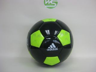 New Adidas adiPURE Glider Soccer Ball Black Size 4 X16520