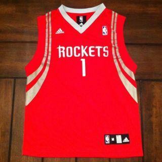 NBA Basketball Houston Rockets Tracy McGrady Adidas Jersey Youth