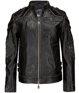 600 Affliction Black Premium Gear UpLimited Leather Motorcycle