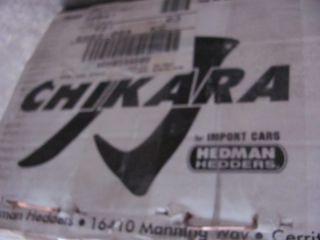 Chikara 37040 96 00 Honda Civic 1 6L Header 4 2 1 2pc Exhaust Header