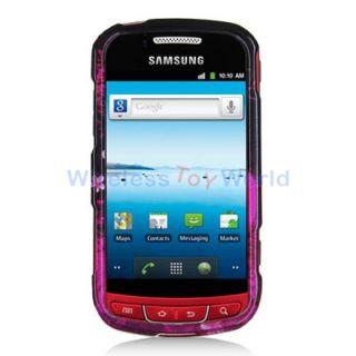Purple Love Hard Case Cover for Samsung Admire R720 Vitality