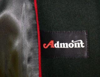 Admont Wool Alpaca Women Blue Austria Gorsuch Winter Warm Long Coat