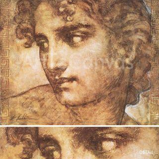 44x35 Adonis Dream Richard Franklin Roman Art Canvas