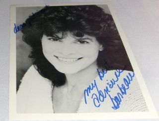 ADRIENNE BARBEAU 7X5 SIGNED ( GREASE  MAUDE CARNIVALE )