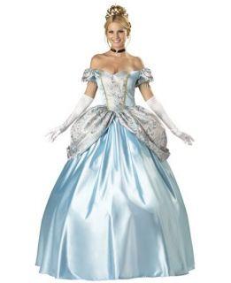 Costume Principessa Cenerentola Lusso Festa Carnevale