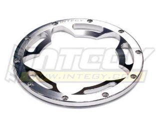 HPI Baja 5B SS 5SC Type 2 Front Rear Beadlock Wheel Ring Silver