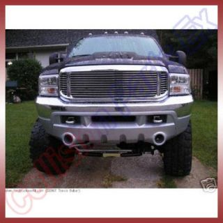 Ford F250 F350 F450 F550 Excursion Chrome Grille