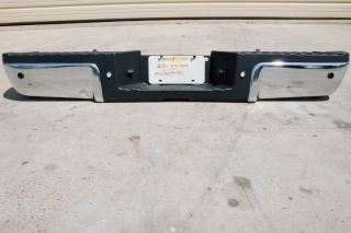 Takeoff Chrome Rear Bumper 2011 2012 Ford F250 SD F350 SD Backup
