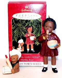 All Gods Children Hallmark Ornament Figurine Martha Holcombe MIB