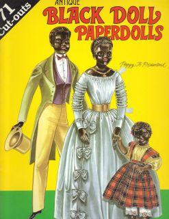 Paper Dolls African American Fashion Clothing Costume Simon Halbig