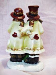 Christmas Snowman Family Resin Holiday Table Shelf Decor