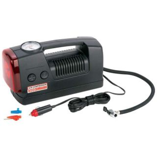 Portable Air Compressor Kit with Light DC 12 Volt 300 PSI Great for