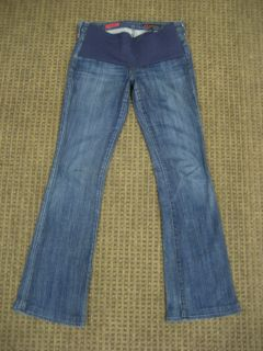 AG Adriano Goldschmied Maternity Jeans The Club Stretch Flare Jeans 28