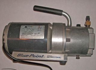 Blue Point Air Conditioner Evacuation Pump Model No ACTR12344C