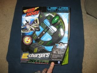 Air Hogs E Chargers X Type Series RC radio controlled Air Plane remote