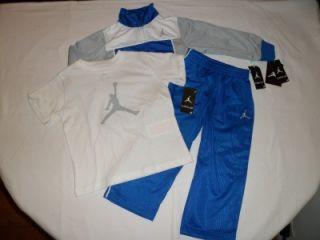 NWT New Kids Boys Nike Air Jordan Jacket Pants Shirt Set Outfit