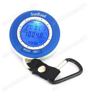 Digital Fishing Barometer Altimeter weather air pressure Thermometer