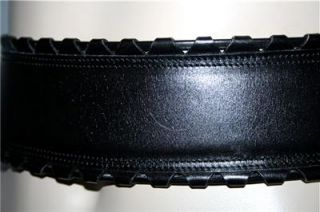 New Without Tags   Vintage ~ ALAIA   PARIS ~ Black Leather w