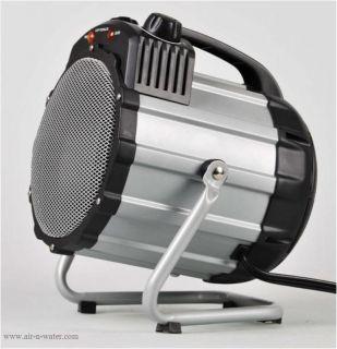 H7100 Optimus Heaters Portable Black Electric Shop Utility Garage