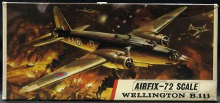 72 Airfix VICKERS WELLINGTON B.III British WWII Bomber *MINT*