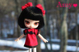 Angel DAL Amy Gothic Black Red Dress Doll Jun Planning